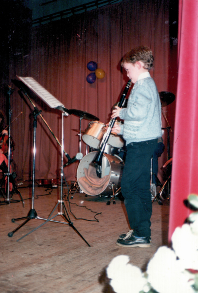 This is where it all began, Dad got me a clarinet Age 10